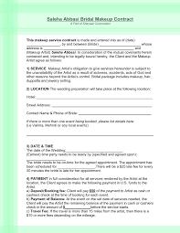 makeup contracts for weddings makeup list for wedding makeup vidalondon