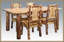 Log Dining Room Table Log Dining Table Ebay