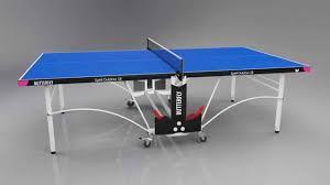 butterfly outdoor rollaway table tennis butterfly spirit 18 outdoor rollaway table tennis table youtube