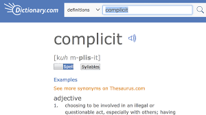 complicit u0027 is the word of the year in 2017 dictionary com says