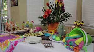 Party Decorating Ideas by How To Make Indoor Beach Party Decorations Youtube