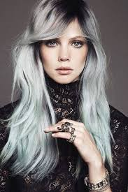grey hairstyles for younger women long grey hairstyles worldbizdata com