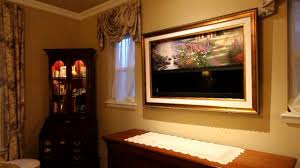 thomas kinkade galleries and frame my tv the garden of prayer
