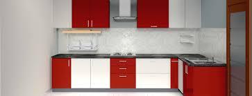 godrej kitchen dimond l shape 2 tone kitchen