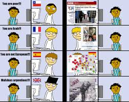 Argentina Memes - mira como nos bardean aryan argentinian memes info taringa