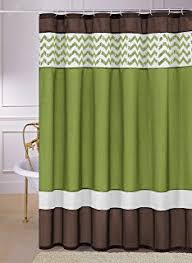 Green And Brown Shower Curtains Green Brown Shower Curtain Integralbook