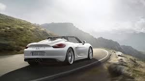 white porsche boxster 2015 white porsche boxster rolling shot wallpaper picture for