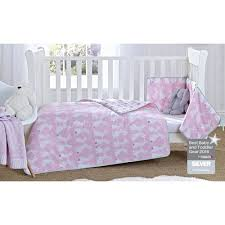 Cot Bumper Sets Buy Clair De Lune 2pc Cot Cot Bed Bedding Set Silver Lining White