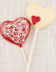 heart lollipop decorated heart lollipops inspired home candy makenmold