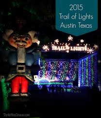 Trail Of Lights Austin Texas The Brightest Holiday Lights In Austin Are On The 2015 Trail Of