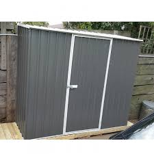 absco spacesaver garden shed 2 26mw x 1 52md x 2 08mh 23151sk