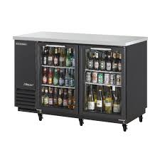 amazon com turbo air tbb 2sg 58in 2 glass door back bar cooler