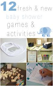 new baby shower these 12 fresh new baby shower activities that