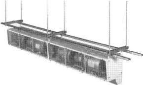 Loading Dock Air Curtain Qmark High Velocity Air Curtains