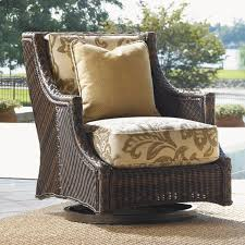 Swivel Patio Chairs Bahama Outdoor Island Estate Lanai Swivel Patio Chair With