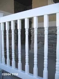 vinyl pvc colonial railing kit