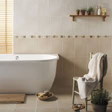 beige bathroom tile ideas white soaking bathtubs shower with glass