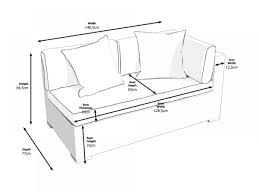 Sofa Seat Depth by Monaco Left As You Sit Sofa For The Monaco Daybed Set Truffle