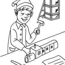 santa u0027s helpers coloring pages 43 printables color