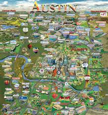 Map Of Austin Area by Austin Map Silicon Maps