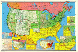map of the us states in 1865 5583jpg united states reconstruction and the new south 18651900