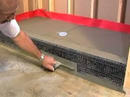 Installing Tile Shower Pan Learn How To Install A Shower Pan From The Tile Shop 2 Of 2