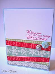 silver boxes five days of handmade christmas cards day three