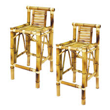 ram game room tbstl bamboo tiki bar stools set of 2 the mine