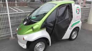 toyota coms セブンイレブンの宅配用電気自動車トヨタ コムス toyota coms