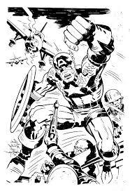 captain america marvel super hero squad coloring