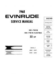 33954324 4536709 evinrude 33 hp ski twin 338 series workshop manual