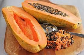 how to cut papaya chunks jeanette u0027s healthy living