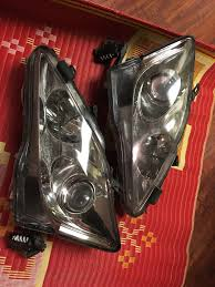 lexus is 250 used san diego ca 2009 is250 headlights halogen with aftermarket hid