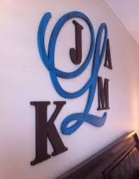 42 best large monogram wooden letters images on pinterest