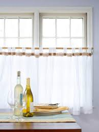 Cafe Curtain Pattern No Sew Curtains Diy Curtain Ideas That Are Quick And Easy To Do