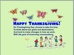 thanksgiving poem on improving workplace communications poems