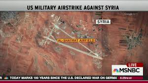 Likely Syrian Missile Targets In Google by How Six Years Of Civil War Led To The U S Bombing A Syrian Airfield