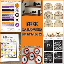 free halloween printables free halloween printables u2022 katie crafts