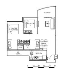 bedroom floorplan hillview peak floor plan and brochure unit types and unit sizes