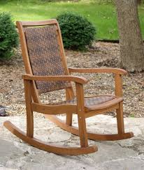 furniture beautiful teak rocking chairs include white removable