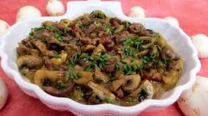 cuisiner rognons de veau blanquette de rognons de veau recette abats supertoinette