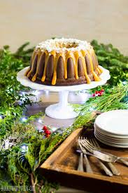 Spicy Gingerbread Bundt Cake With Caramelized White Chocolate
