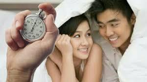 wanita inginkan durasi hubungan intim 25 menit sementara pria hanya