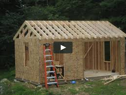 how to build an outdoor shed on vimeo
