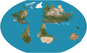 World Map No Labels by Xkcd 1500 Upside Down Map Xkcd