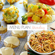 Weekend Dinner Ideas Menu Plan Monday 159 Life In The Lofthouse