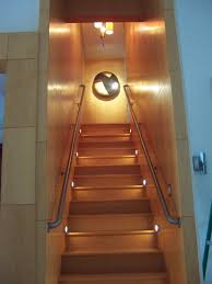 Stair Lighting by Exciting Basement Stair Lighting Ideas Pics Decoration Ideas