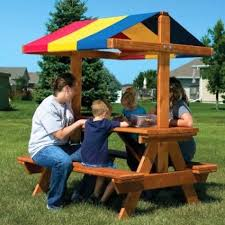 Plans For Outdoor Picnic Table by Best 25 Kids Picnic Table Ideas On Pinterest Kids Picnic Table