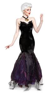 rigid collodion halloween city ursula prestige dress little mermaid 24257 911 costume911