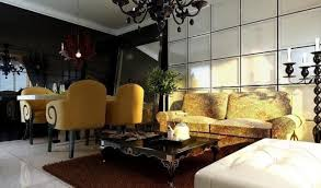 living room and dining room together neoclassical dining living room together interior design